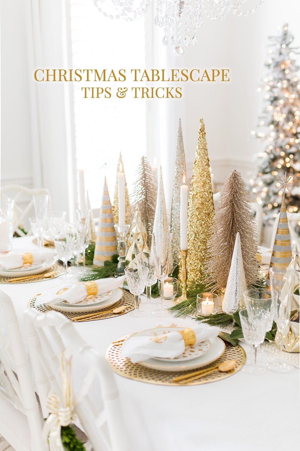 Christmas Tablescape Tips and Tricks