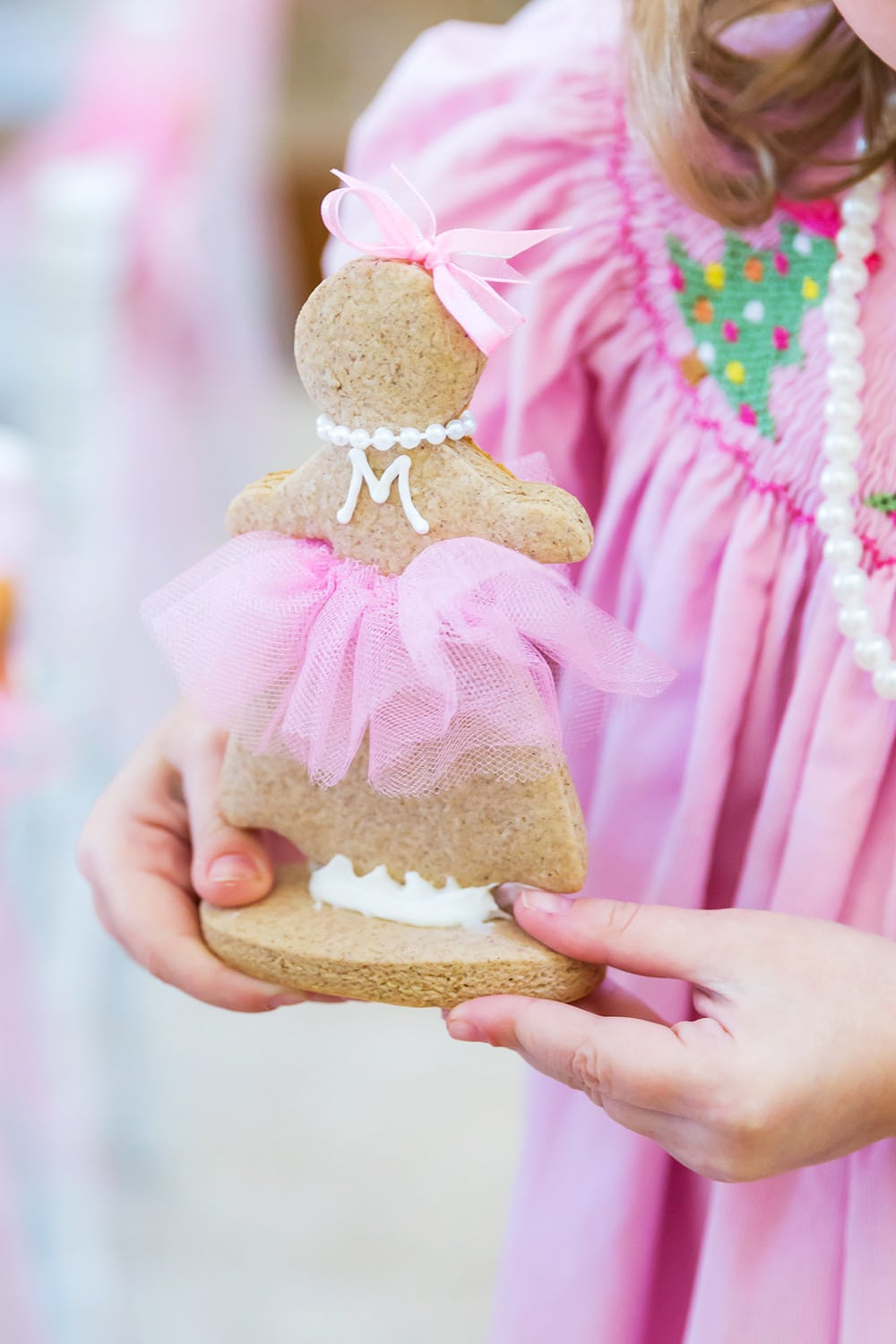 pink gingerbread lady