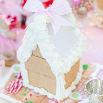 How to make gingerbread houses!