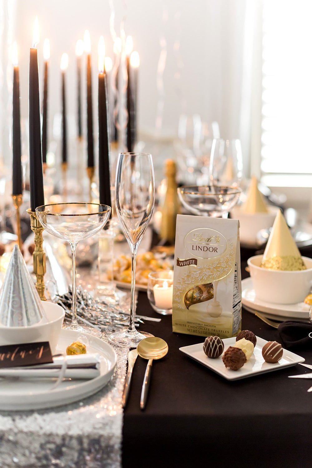 New Year's Eve with Lindt Chocolate