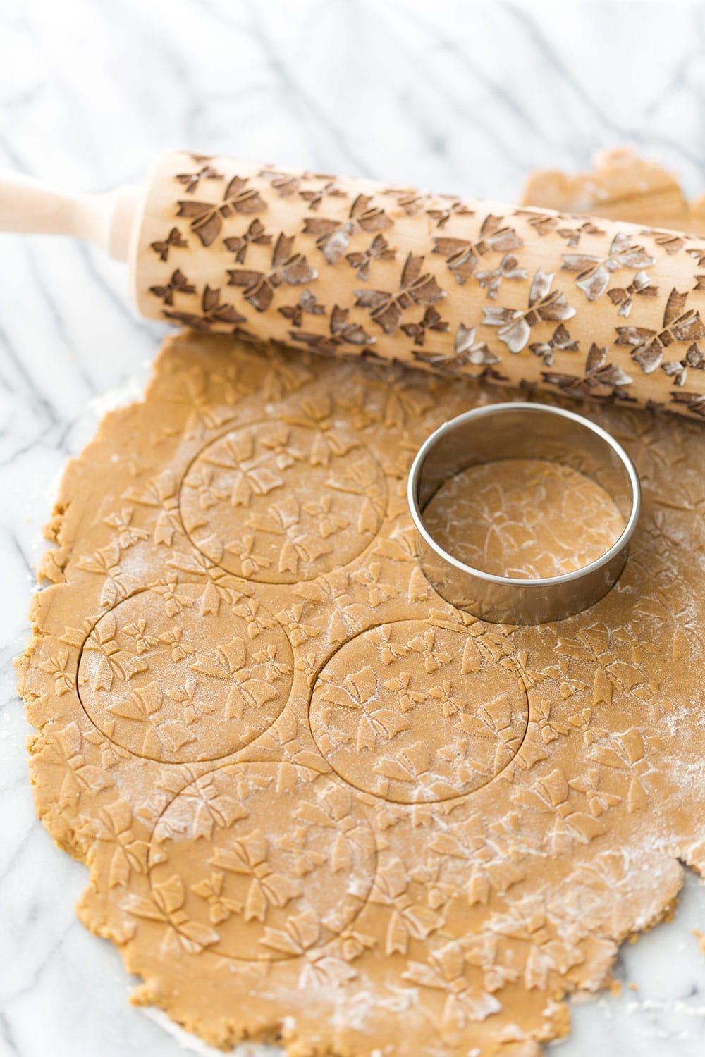 Baking with Embossing Rolling Pins
