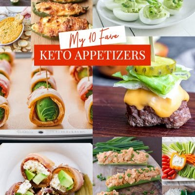 Top 10 Favorite Keto Appetizers