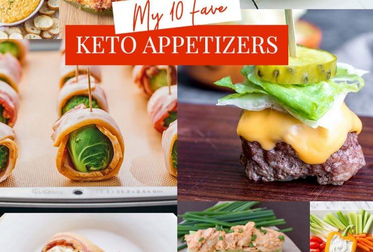 Top 10 Favorite Keto Appetizers