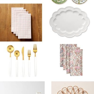 Spring 2019 Entertaining Favorites