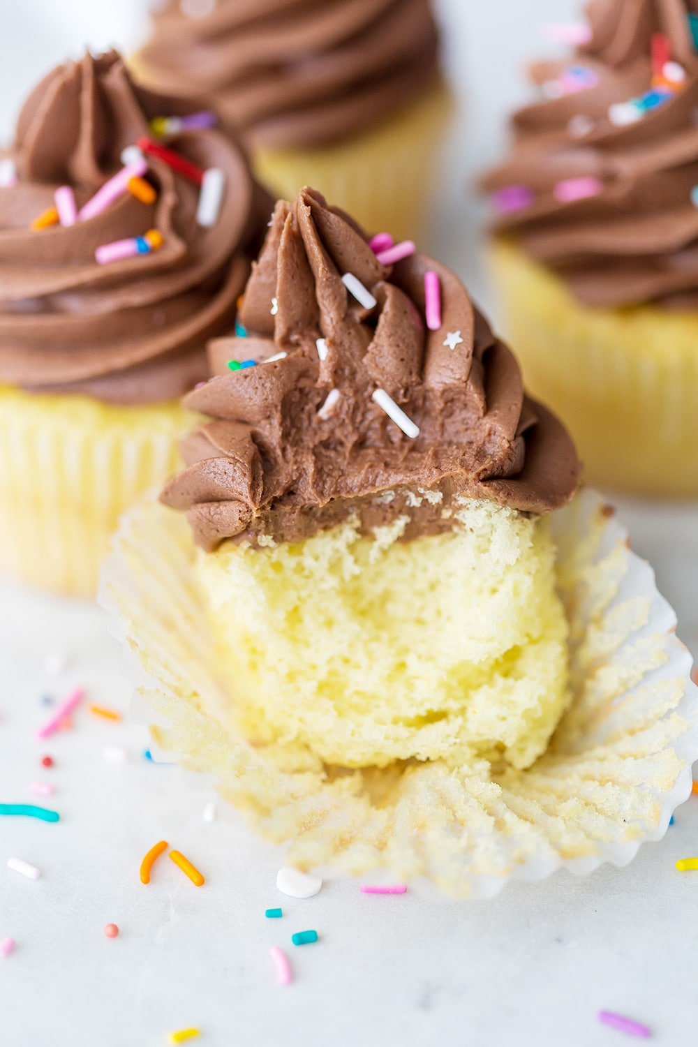 Chocolate Cream Cheese Frosting Cupcake Recipe