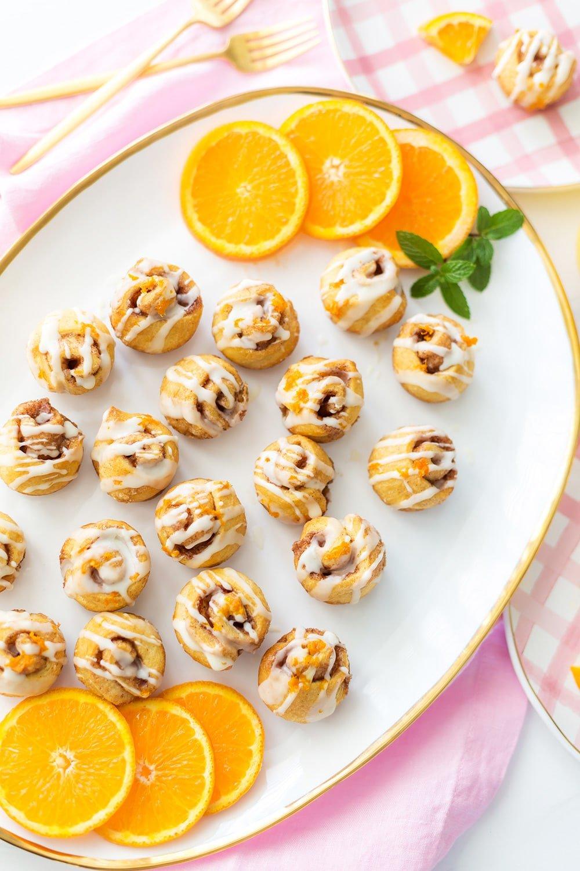 Orange Cinnamon Sweet Rolls