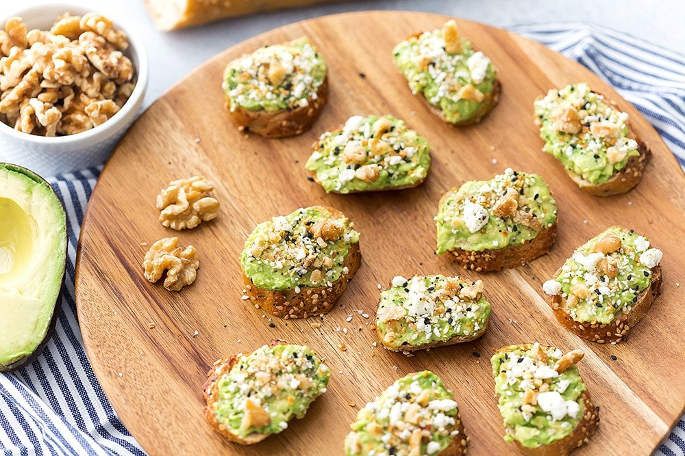 Mini Avocado Toasts