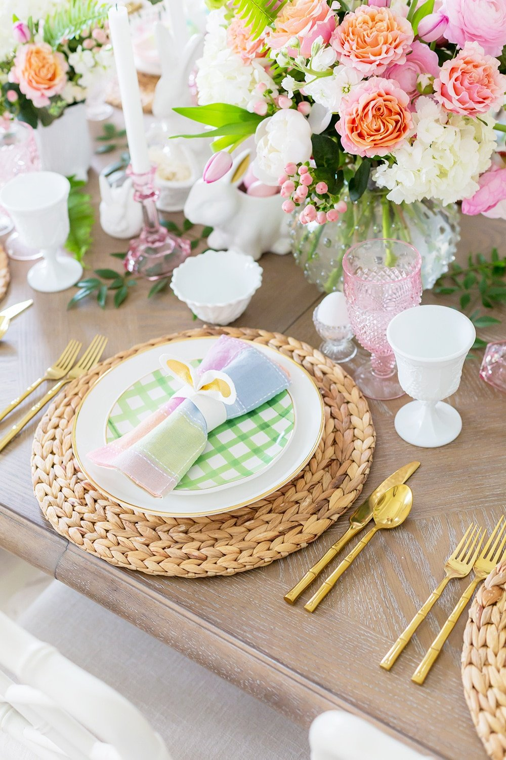 Pretty Easter Place Setting