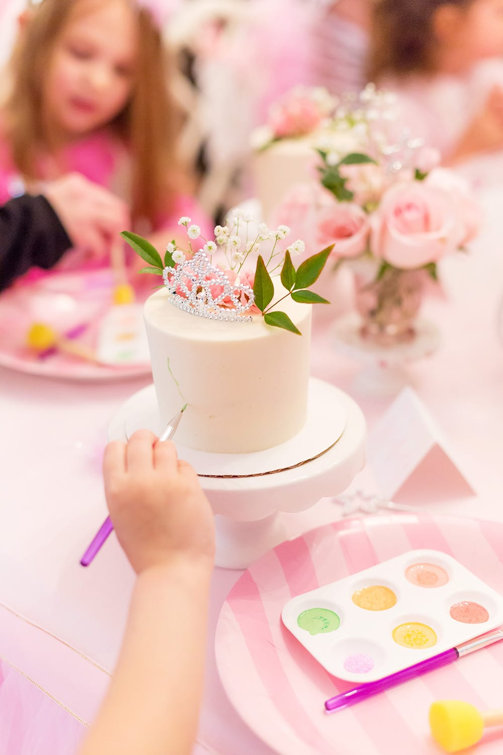 Cake Painting Party
