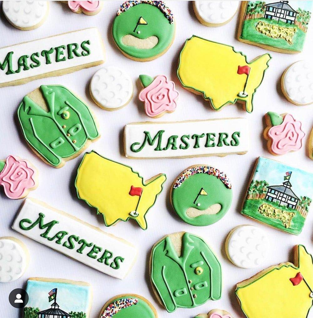 Masters Golf Cookies