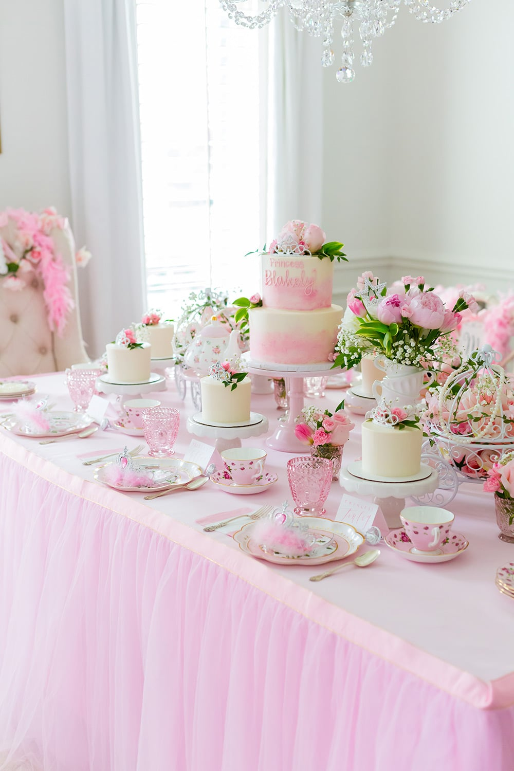 Princess Pink Birthday Party