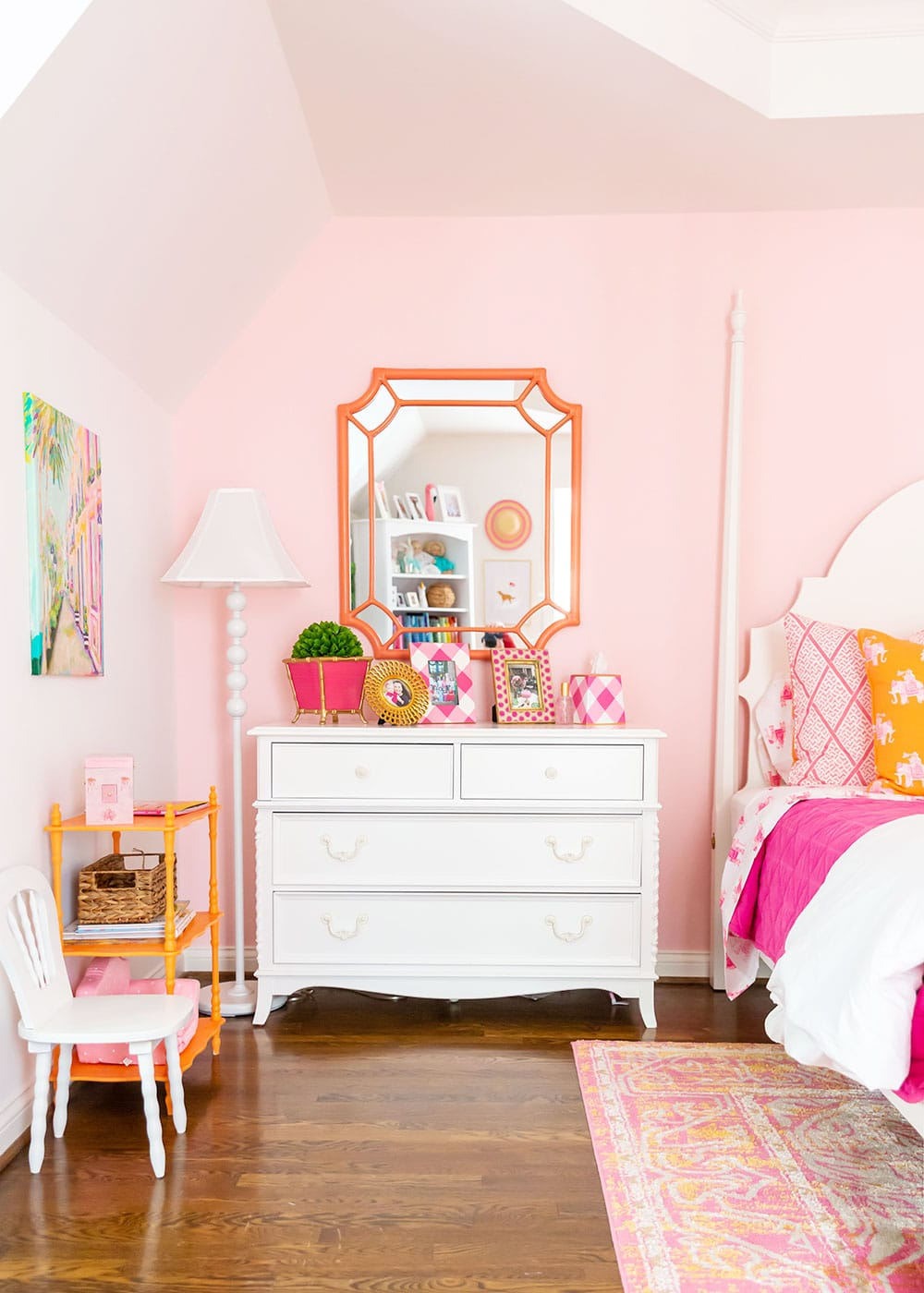 Pink Girl's Big Room