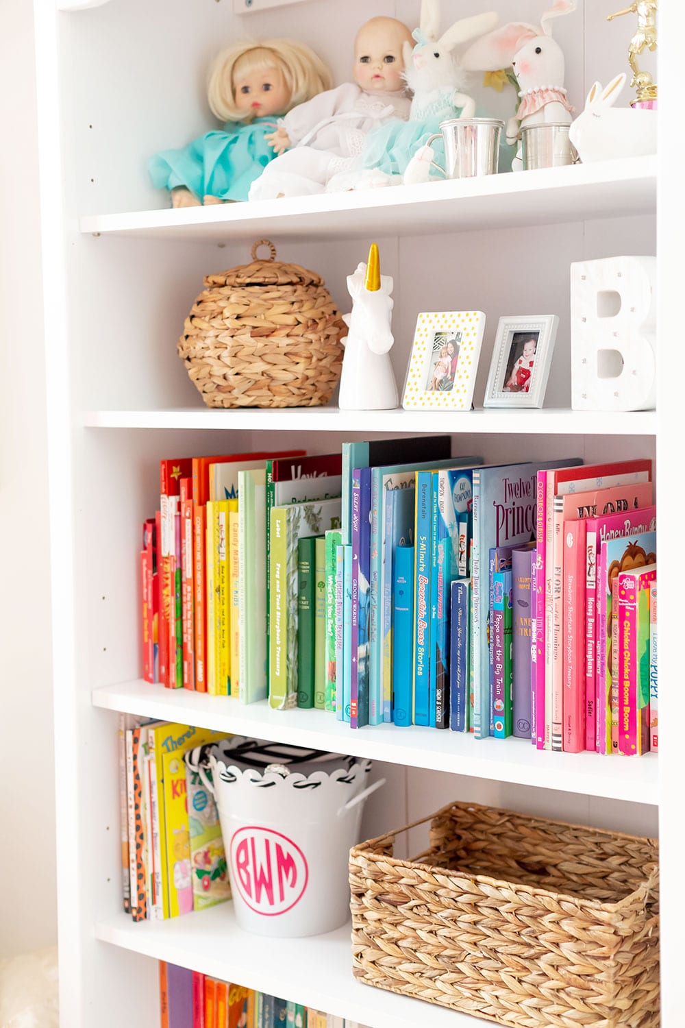 Kids Bedroom Book Shelf Decor
