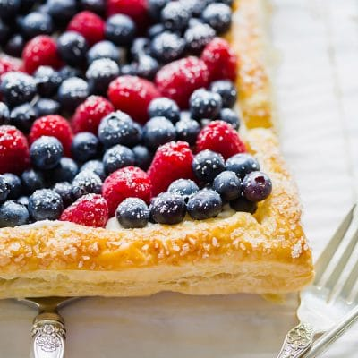 4th of July Dessert Tart