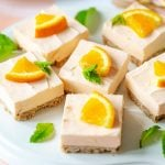 Orange Cheesecake Bars