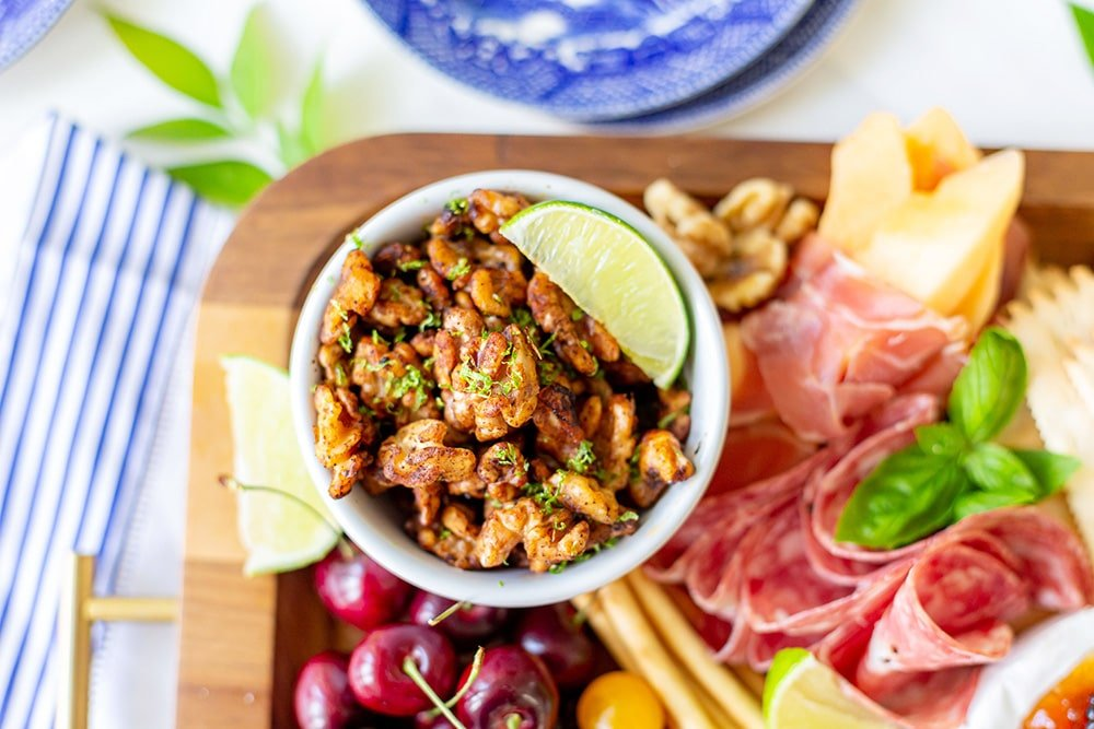 Chili Lime Walnuts