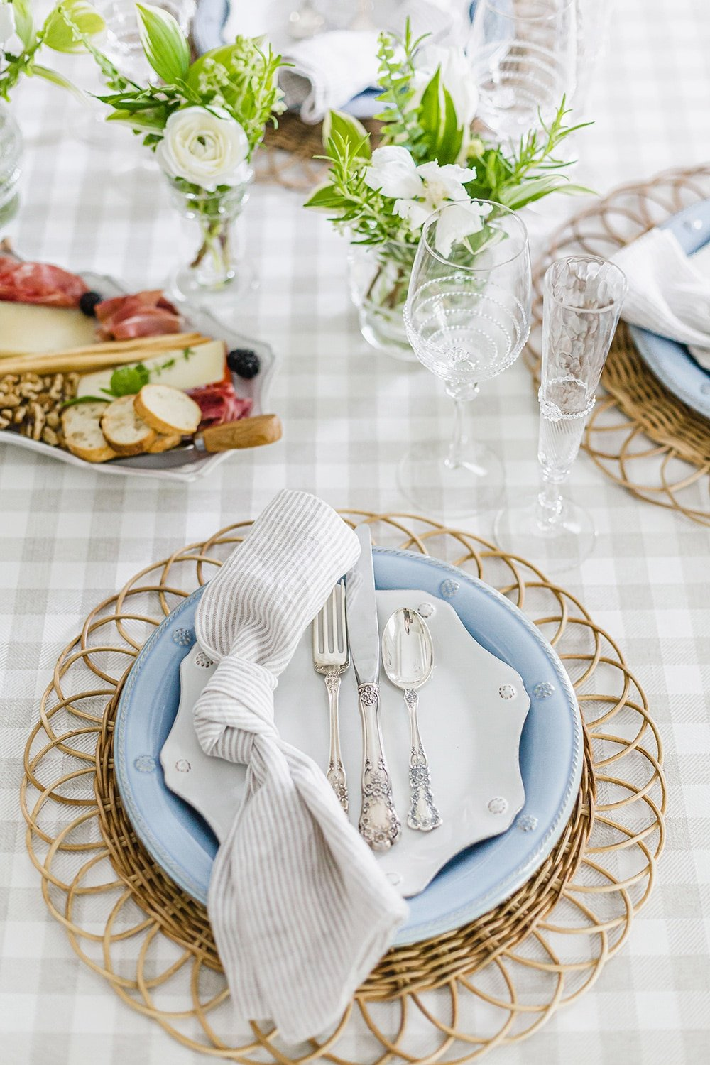 Charming Summer Tablescape