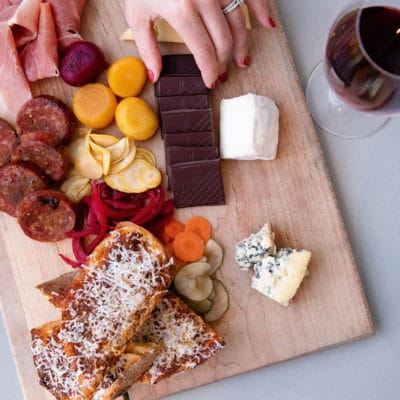 Lindt Cheese Board