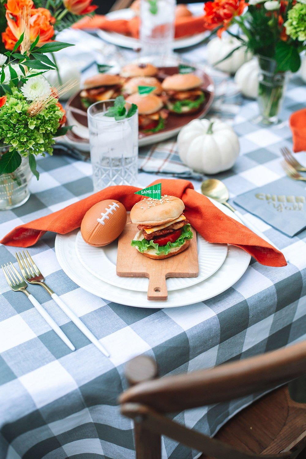 Tailgating at Home: Grilled Chicken Sliders