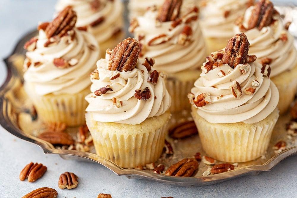 Pecan Pie Cupcakes Recipe