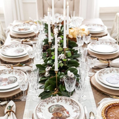 Southern Thanksgiving Tablescape