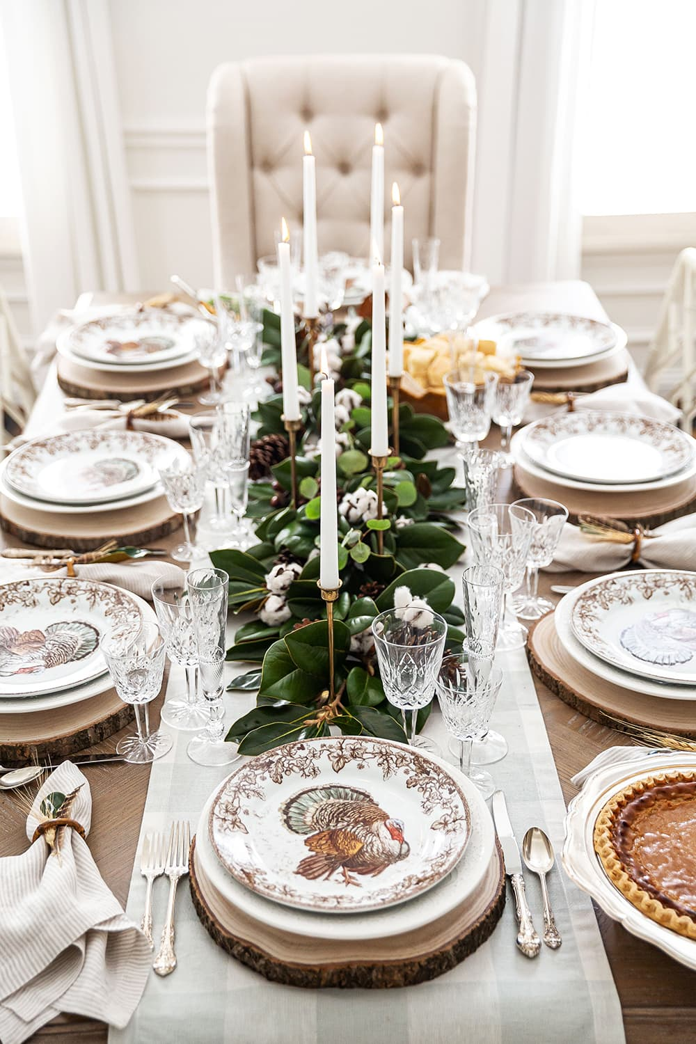 Traditional Southern Thanksgiving Tablescape