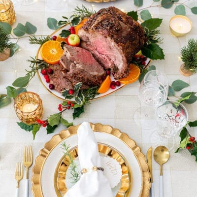 Entertaining with a Holiday Beef Roast
