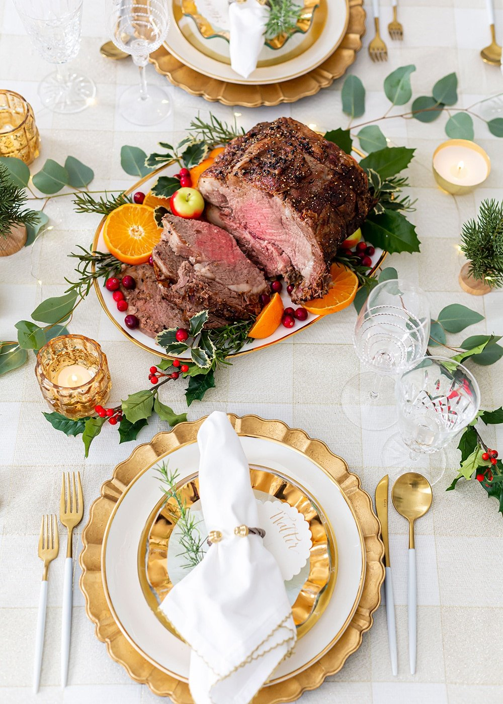 Tips for Entertaining |Serving a Holiday Beef Roast