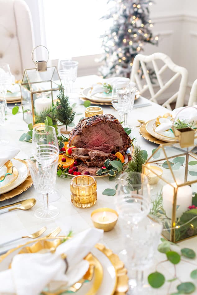 Holiday Beef Roast Centerpiece