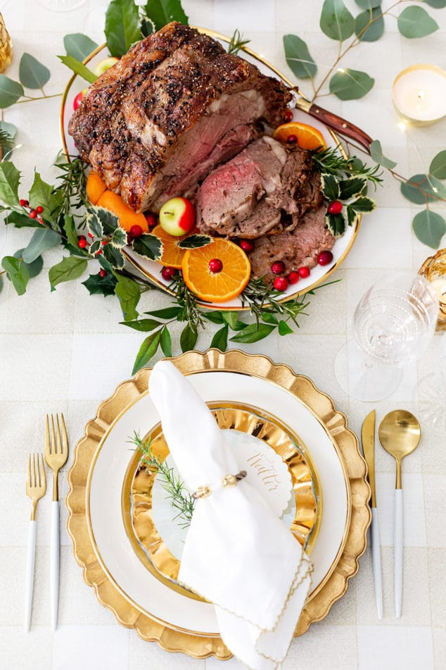Holiday Beef Rib Roast