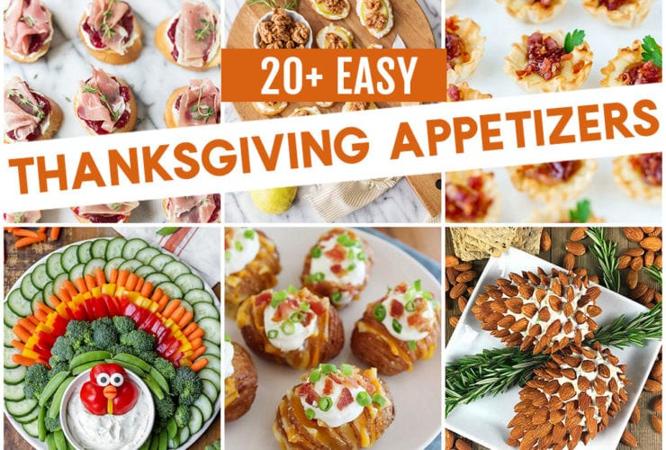 Easy Thanksgiving Appetizers