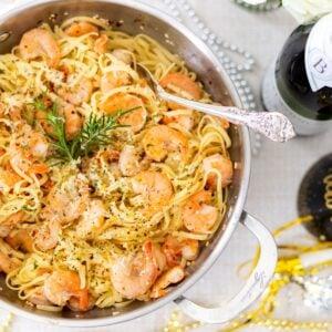 Champagne Shrimp Scampi