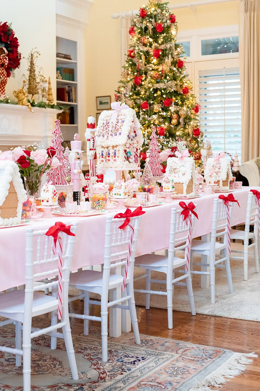4th Annual Gingerbread House Tea Party