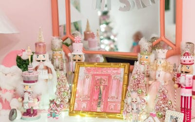 Pink Nutcracker Christmas