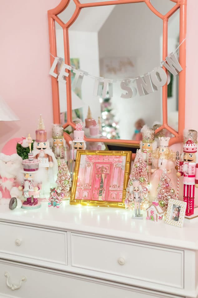 Pink Nutcracker Christmas