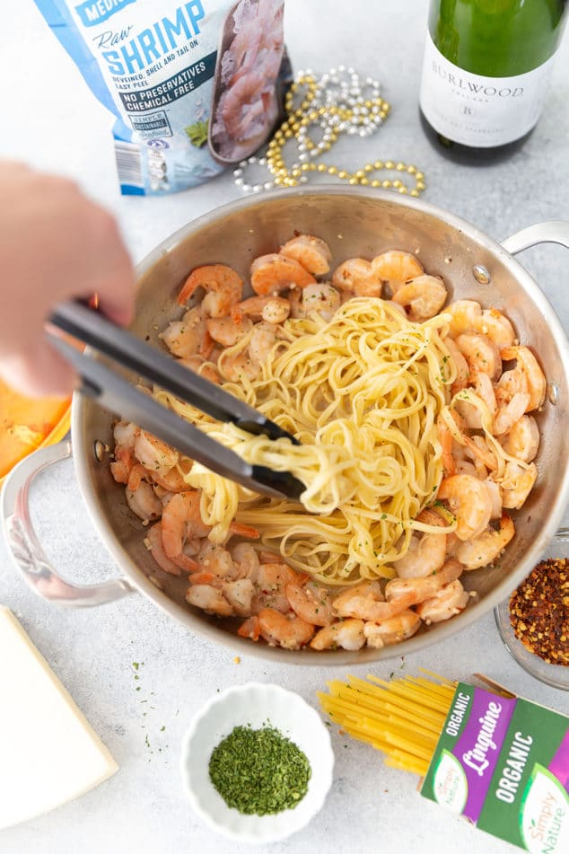 Champagne Shrimp Scampi Recipe