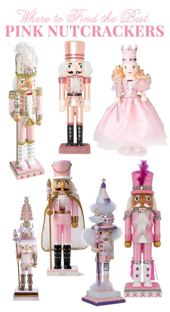 Where to Find Pink Nutcrackers