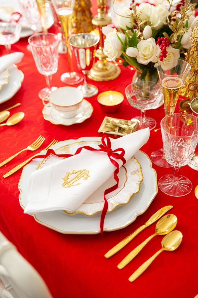 Southern Christmas Tablescape