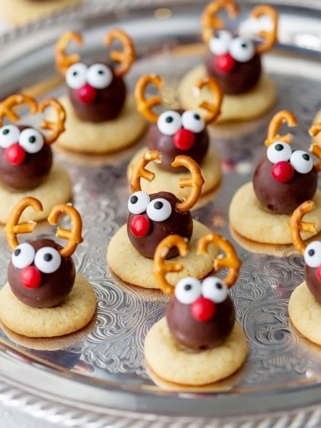Reindeer Truffle Cookies