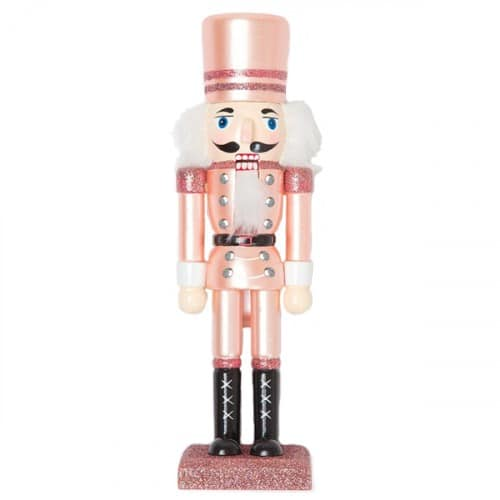 Rose Gold Pink Nutcracker