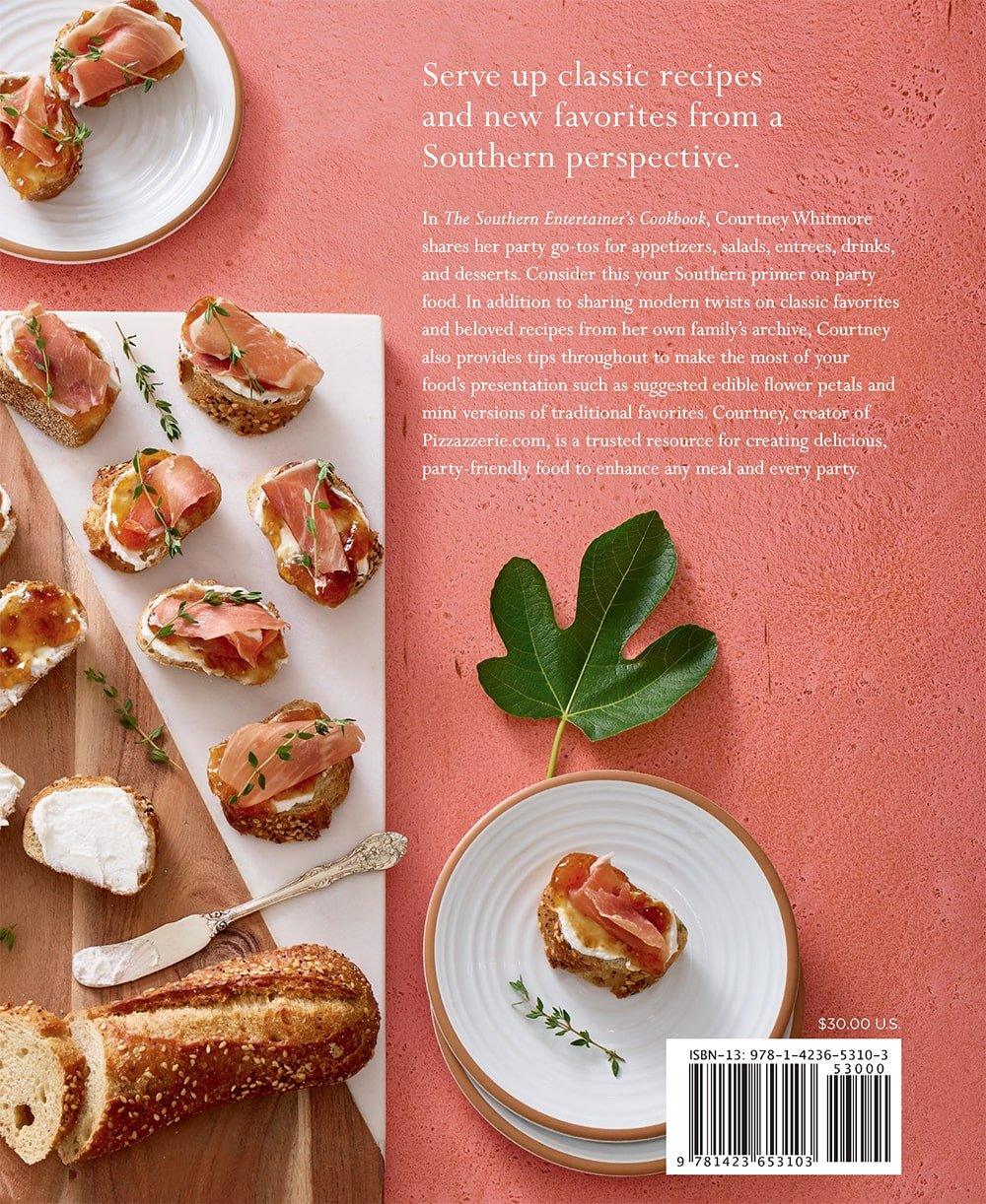 Southern Entertainer's Cookbook by Courtney Whitmore