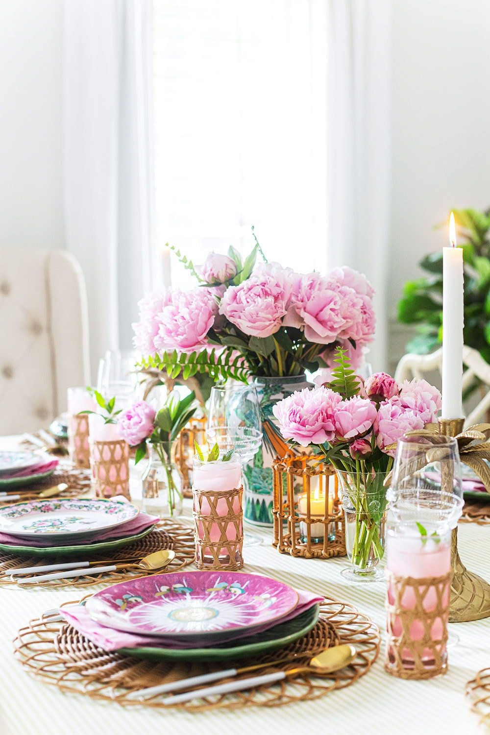 Famille Rose Tablescape