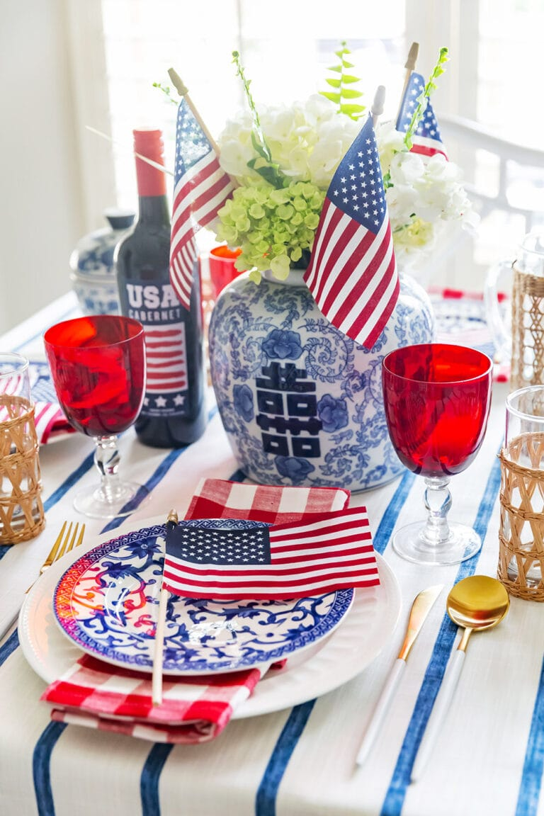 July 4th Party Table Inspiration