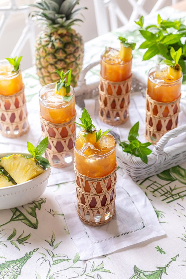 Pineapple Sweet Tea Recipe