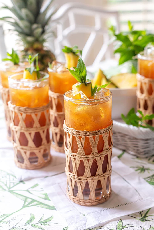 Iced Pineapple Sweet Tea