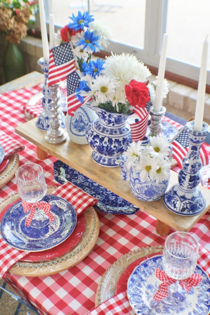 July 4th Party Tablescapes