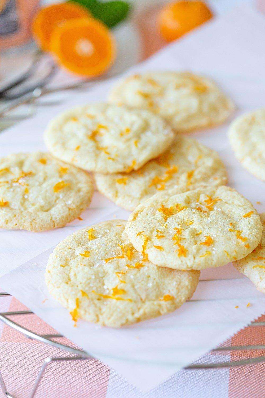 Tangerine Vanilla Sugar Cookies