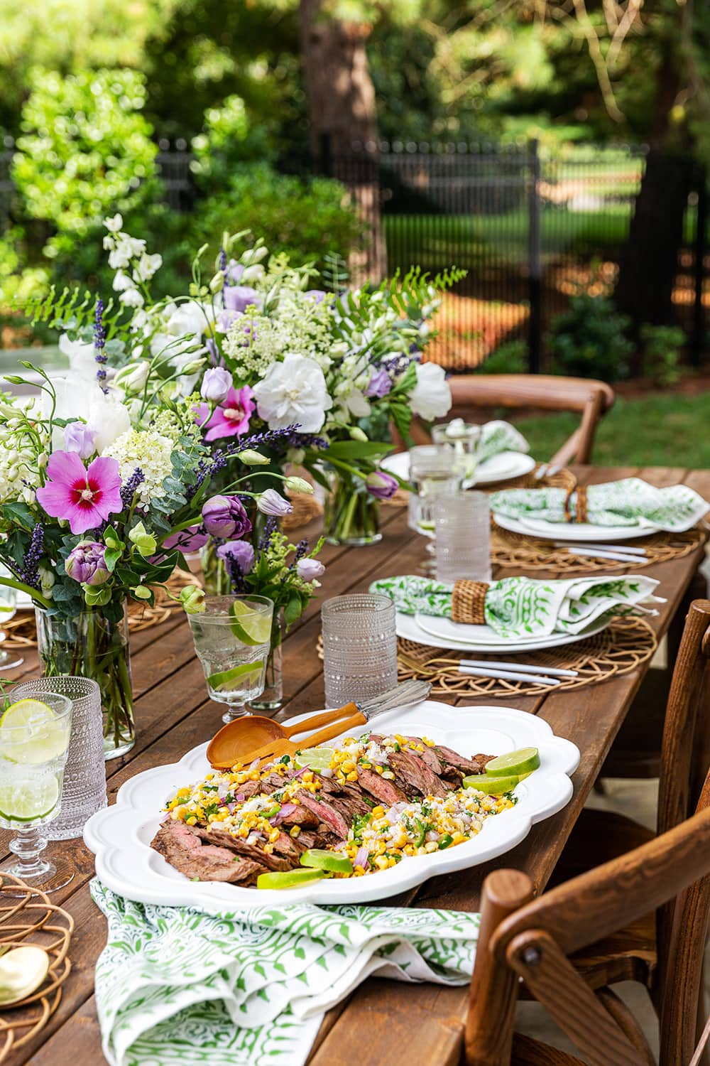 Backyard Grilling Tablescape