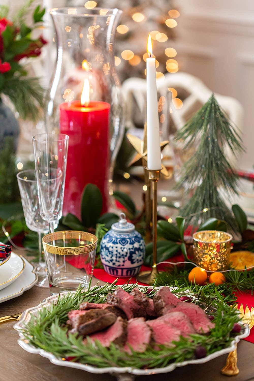 Christmas Roast Beef Tenderloin