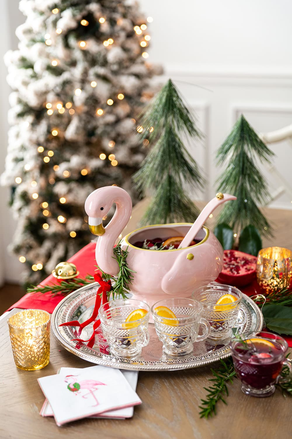 Christmas Punch Bowl